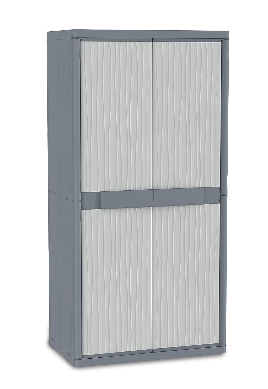 Terry - Armario plástico exterior, 89.7 x 53.7 x 180 cm 1002563