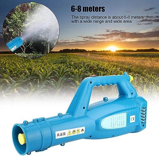 Neufday Spray soplador de pesticidas, portátil portátil agrícola agrícola pulverizador de pesticidas soplador jardín Herramienta de Control de plagas: Amazon.es: Hogar