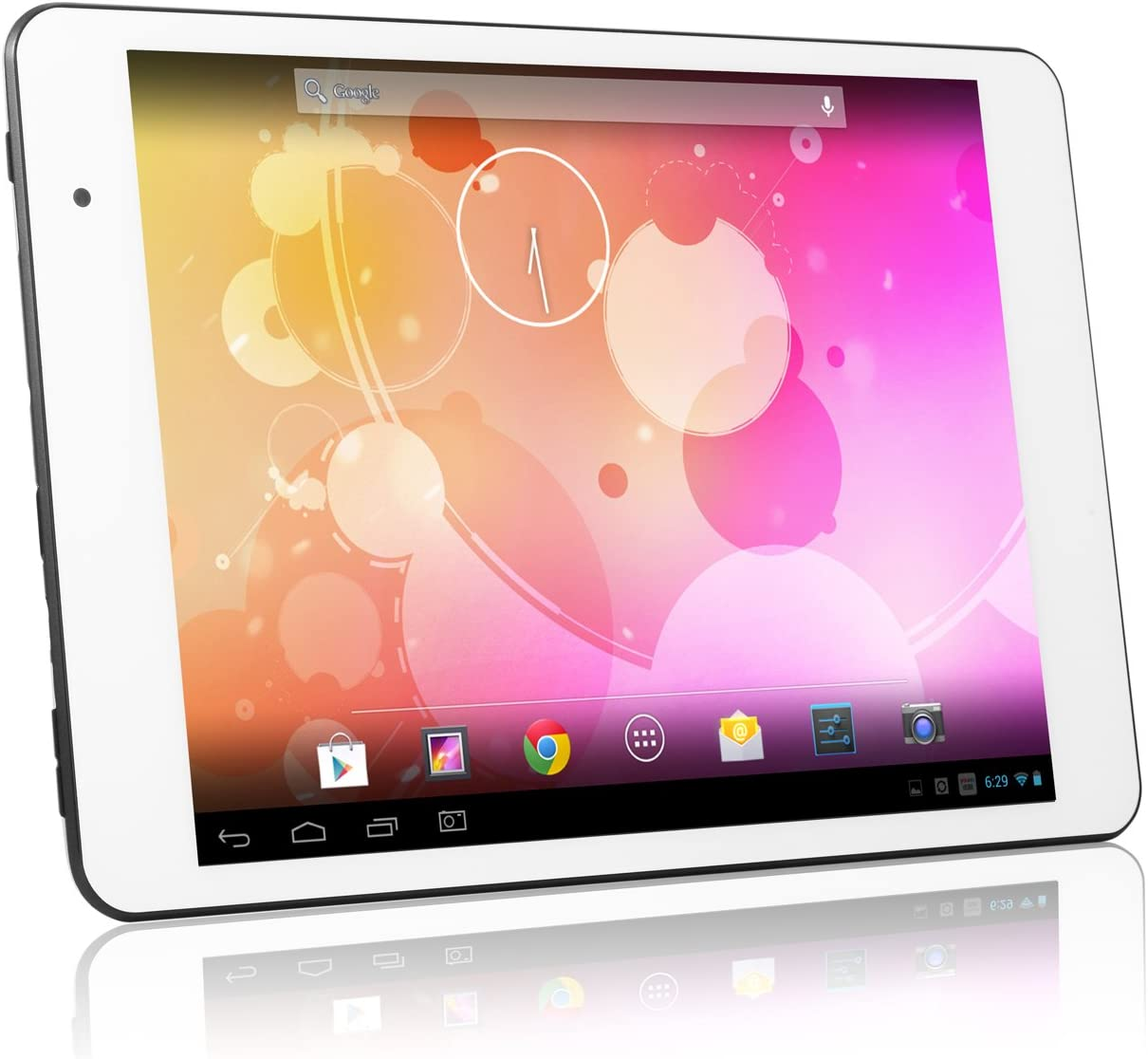 Amazon Com Le Pan 8gb 8 Inch Quad Core Android 4 2 Tablet Silver Tablet Computers Computers Accessories