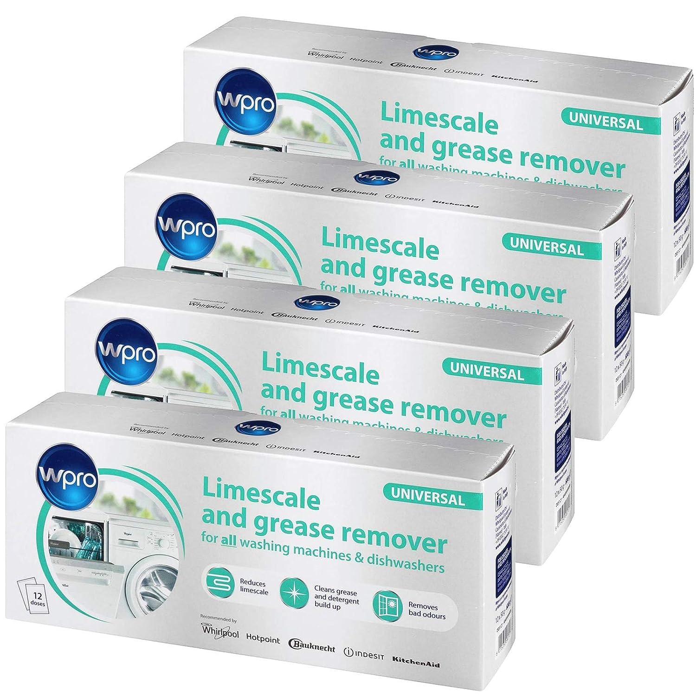 Wpro - Descalcificador universal para lavadora y lavavajillas (48 ...