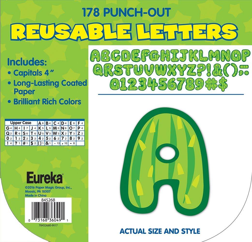 Eureka Educational A Sharp Bunch Tossed Pattern 845272
