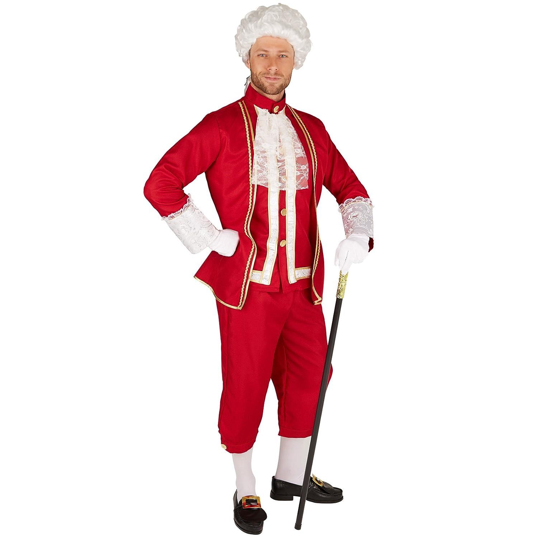 dressforfun Disfraz Noble veneciano   Pantalones cómodos y elegantes   Parte superior de ensueño y muy elegante   Incl. Medias (M   no. 301390)