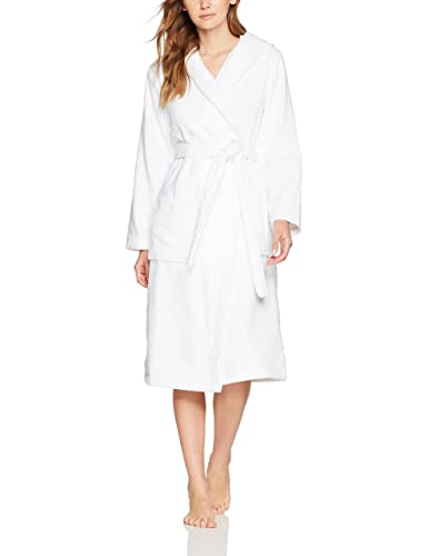 Iris & Lilly Terry Towel Hooded, Traje de Baño para Mujer
