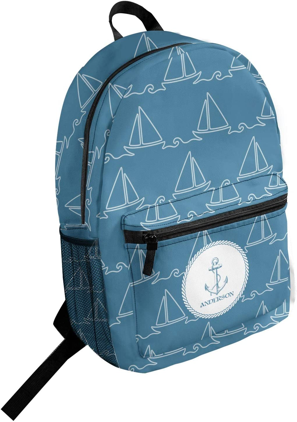 Rope Sail Boats Student Backpack Personalized