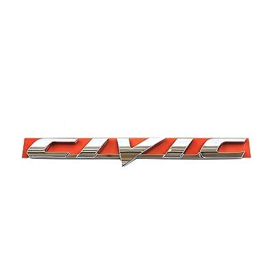 Honda Genuine Accessories 75722-SNA-A01 Trunk Civic Emblem: Automotive