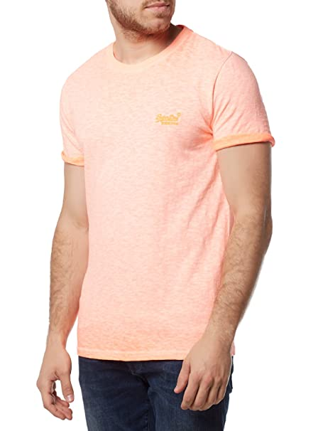 Orange Label Low Roller tee, Camiseta para Hombre, BLU (Resort (Ri Ve Ri a) Navy), XX-Large Superdry