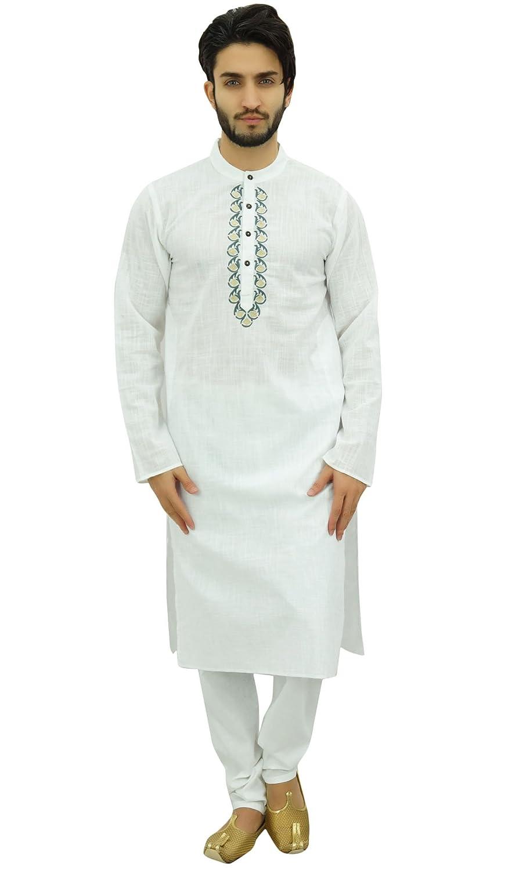 Atasi Men's Kurta Pajama Set Indian Ethnic Punjabi Long Shirt