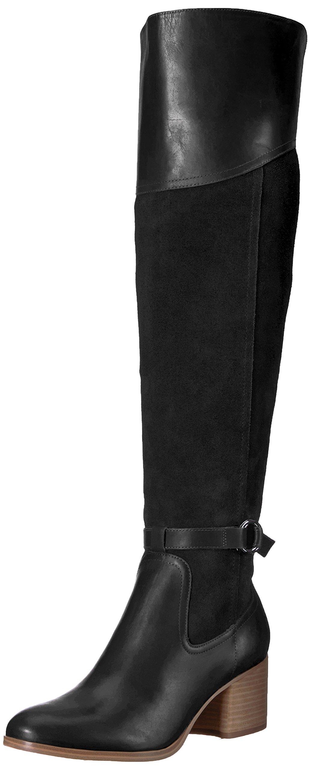 Marc Fisher Women's Eisa Fashion Boot, Black 970, 7 Medium US