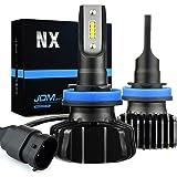 JDM ASTAR NX Fanless Design H11 H8 H16 Up to 60% More Downroad Visibility White LED Headlight Bulbs/Fog Light Bulbs