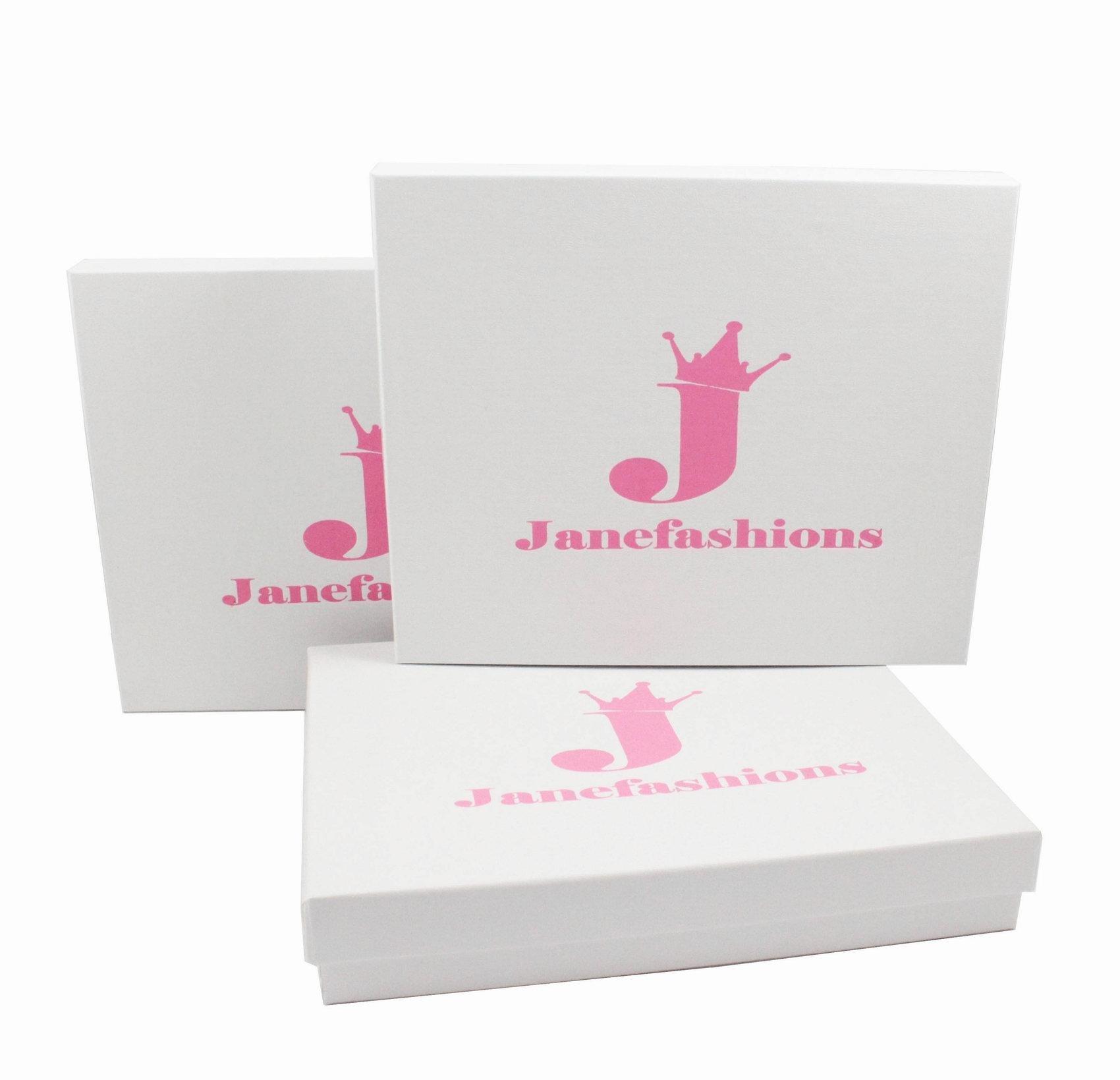 Janefashions 3-row Clear Austrian Clear Rhinestone Choker Necklace Party Wedding Prom N175s Silver