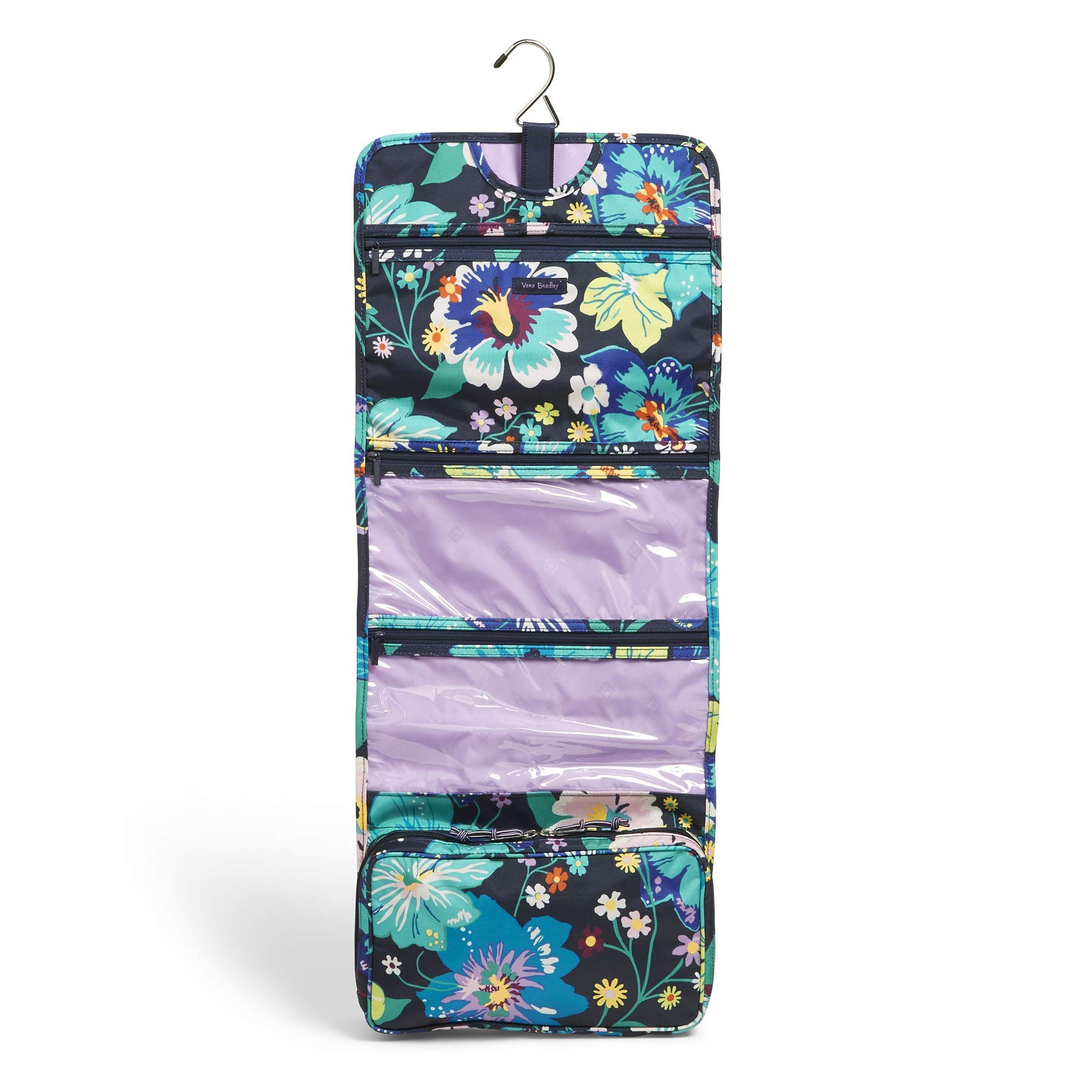 Vera Bradley Lighten Up Hanging Travel Organizer, Polyester, Firefly Garden by Vera Bradley