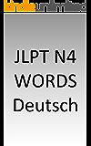 JLPT N4 words German