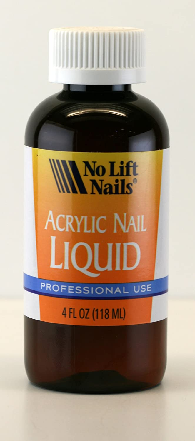 Amazon.com : NO LIFT NAILS Acrylic Nail Monomer Liquid 4oz : Hand ...