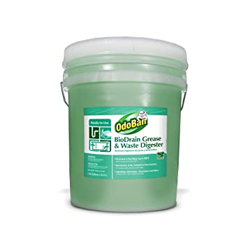 Amazon.com : An Item of OdoBan BioDrain Grease and Waste Digester (5 ...