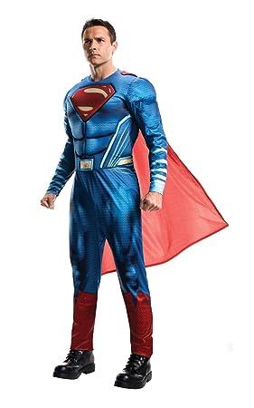 Superman Disfraz Classic Adultos, Talla Única (Rubies Spain 820952)