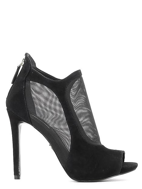 Guess Botines sin punta Mujer negro Talla 40- FLAVO1FAB09-BLACK-40: Amazon.es: Zapatos y complementos