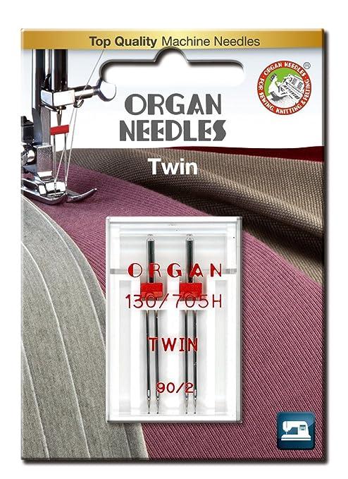 Órgano Agujas # 90/2.0 x Universal doble de 2 agujas