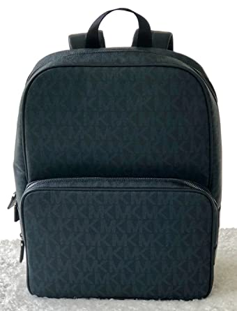 23f7cbd2c Amazon.com | Michael Kors Mens Jet Set Backpack Baltic Blue Shoulder ...
