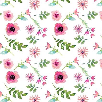 Amazon Com Floral Watercolor Digital Paper Vinyl 0349 Ht 11 Arts Crafts Sewing