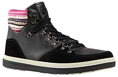 416e94bf089f Amazon.com  Gucci Men s Black Contrast Combo GG High Top Sneakers ...