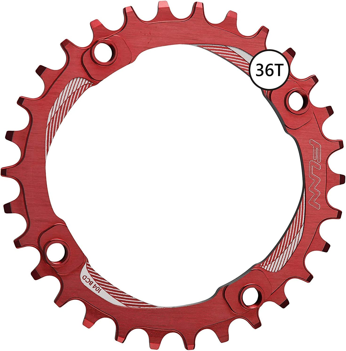 Funn Solo Narrow Wide Chain Ring BCD 104mm