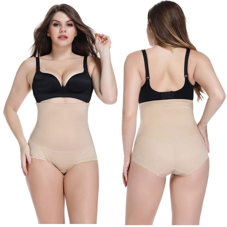WOWENY Miedersilps mit Bauchweg Shapewear Bauchweg Unterhose Damen Figurformende Taillenformer Stark Bodyshaper f/ür Frauen formendes H/öschen Sicherheitshosen