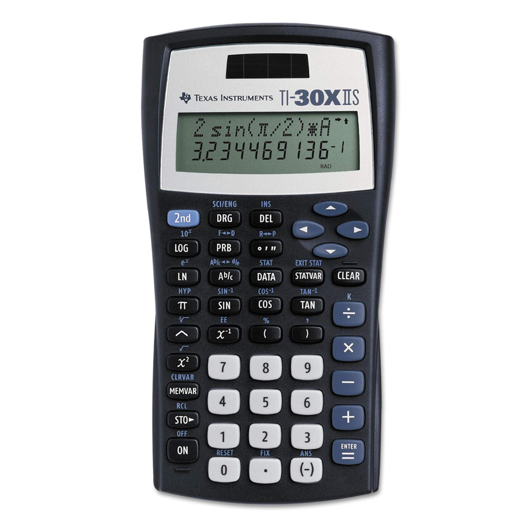 Texas Instruments TI-30X IIS Scientific Calculator - Black
