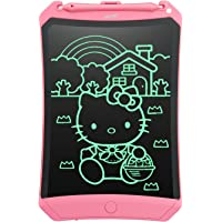 NEWYES LCD Writing Tablet Robot Pad, 8.5 Inch, with Lock Switch (Pink)