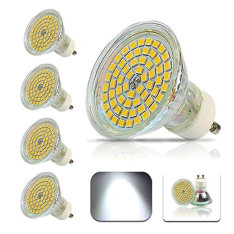 GU10 Bombilla LED 4W 2835 60SMD 6000K la lámpara de ahorro de energía e iluminación dentro