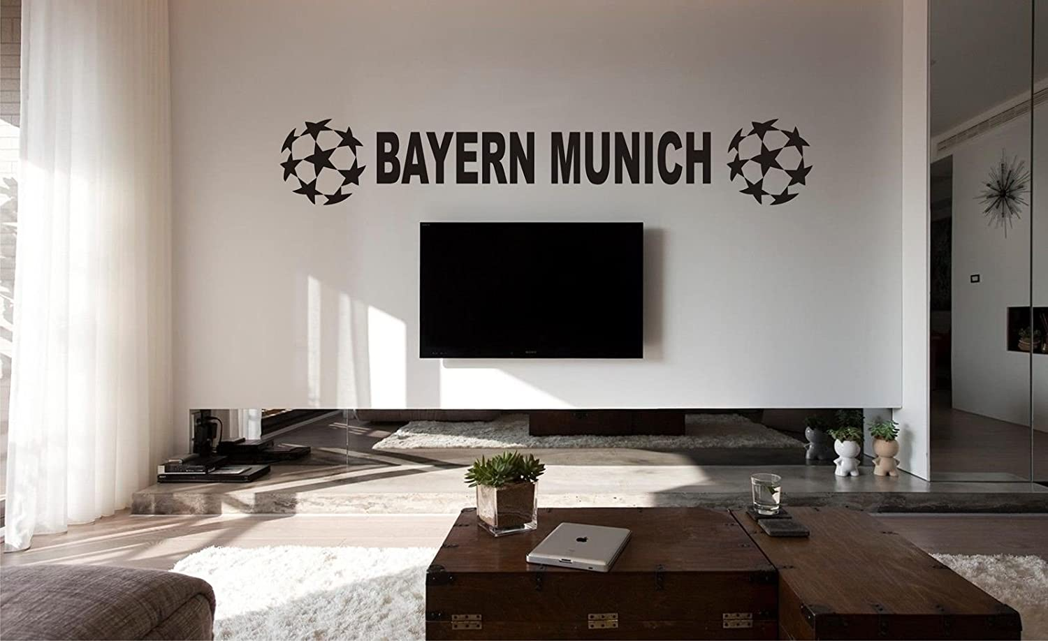 amazon com bayern munich football bedroom poster wall art sticker amazon com bayern munich football bedroom poster wall art sticker decal car vinyl posters prints