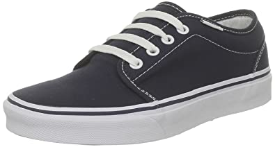 Vans U 106 Vulcanized, Baskets mode mixte adulte Bleu (Navy) 34.5 EU