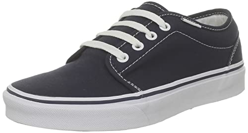 Vans Unisex 106 Vulcanized Core Classics Navy Sneaker Men's 4, Women's 5.5  Medium