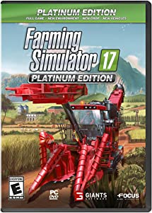 Farming Simulator 17 Platinum Edition - PC: Video Games - Amazon com
