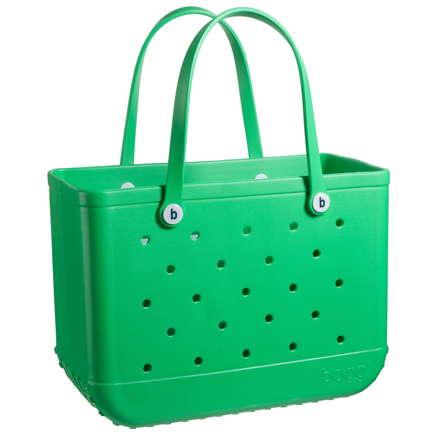 BOGG BAG X Large Waterproof Washable Tip Proof Durable Open Tote Bag for the Beach Boat Pool Sports 19x15x9.5 (X Large, GREEN with envy bogg)
