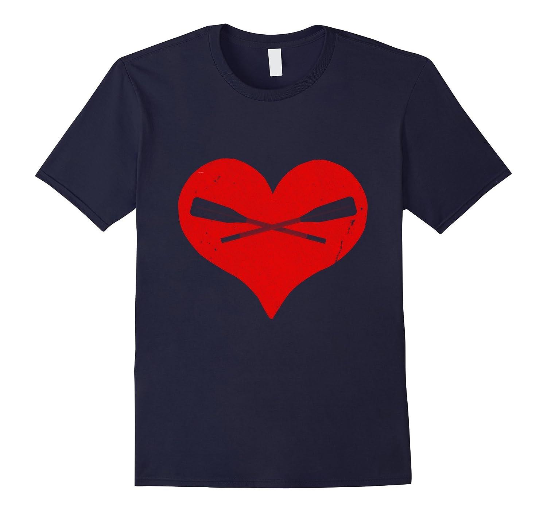 I Love Rowing T-Shirt-RT