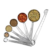 Measuring Spoon Set,High Qualiry Stainless Steel Measuring Spoons Kitchen Supplies