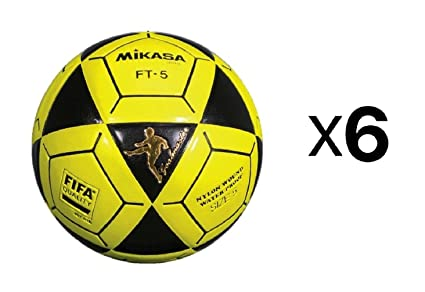 467e8e72e Image Unavailable. Image not available for. Color: Mikasa Official Goal  Master Soccer Football Ball Size 5 Yellow w/Black ...