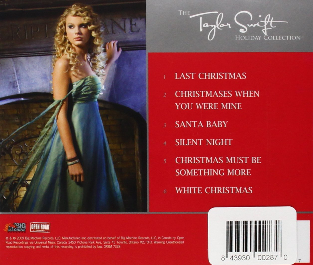 Taylor Swift - The Taylor Swift Holiday Collection - Amazon.com Music