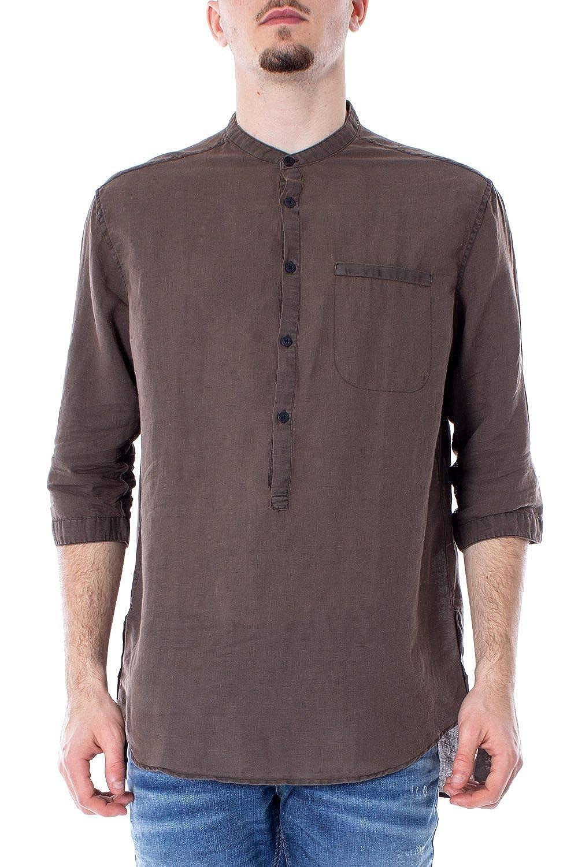 Taille Fabricant 44 Antony Morato Luxury mode Homme MMSL00531FA400051marron Marron Chemise   Printemps été 19