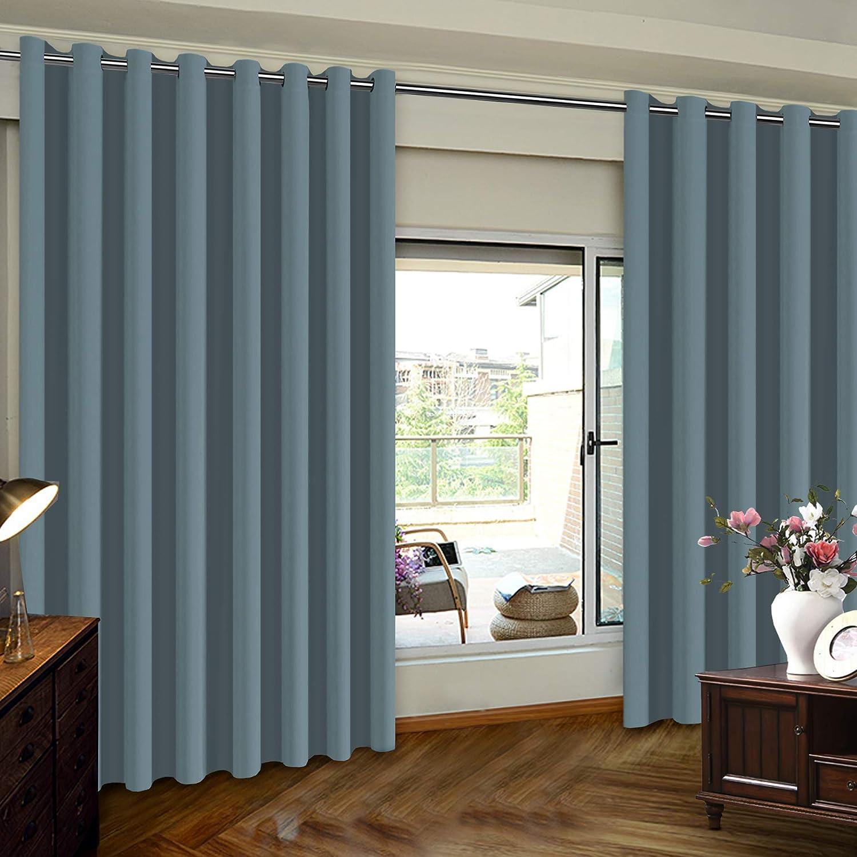 patio door slider curtains extra wide patio door curtain sliding door insulated blackout curtains energy smart noise reducing grommet thermal