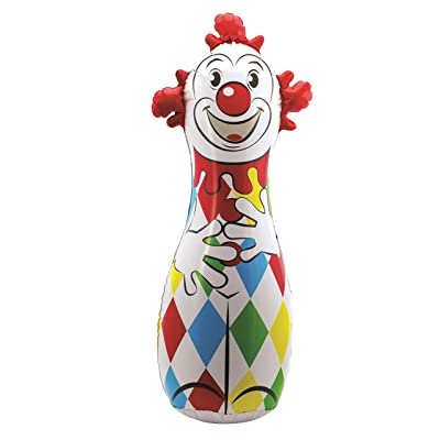Schylling Classic Clown Bop Bag: Toys & Games