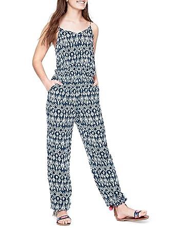 faf489c9e1d PEPE JEANS - Combinaison imprimé bleu ado fille pepe jeans  Amazon ...