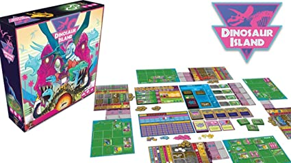Devir Dinosaur Island-Juego De Mesa [Castellano] (DEV227864): Amazon.es: Juguetes y juegos