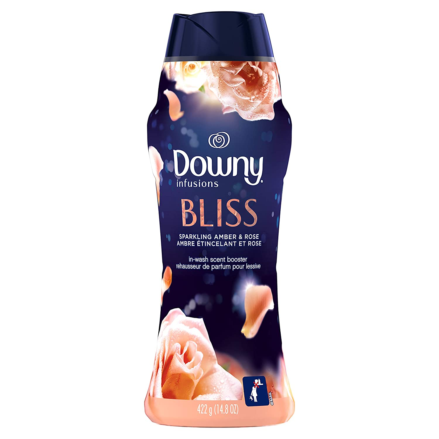 Downy Infusions in-Wash Scent Booster Beads, Amber Blossom, 14.8 Ounce