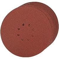 Silverline 274762 - Discos de lija perforados autoadherentes