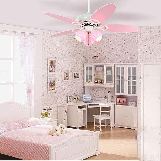 OYE Hogar araña ventilador de techo para habitación de los niños princesa niña araña ventilador luces espacio araña ojo: Amazon.es: Bricolaje y herramientas