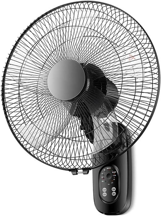Ventilador de pared de 16 pulgadas, control remoto inteligente, velocidad del viento de 3 velocidades, ángulo ajustable, ventilador industrial doméstico, ventilador ...