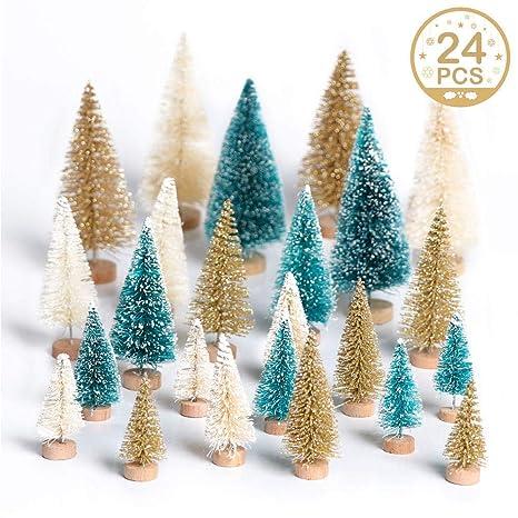 Amazon.com: OurWarm - 24 piezas de árbol de Navidad ...