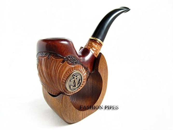Amazon com: Fashion New Set -Tobacco Pipe ANCHOR METAL