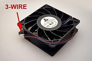 PartsCollection® Delta FFC1212DE Ultra Strong 120MM DC12V Cooling Fan 200CFM